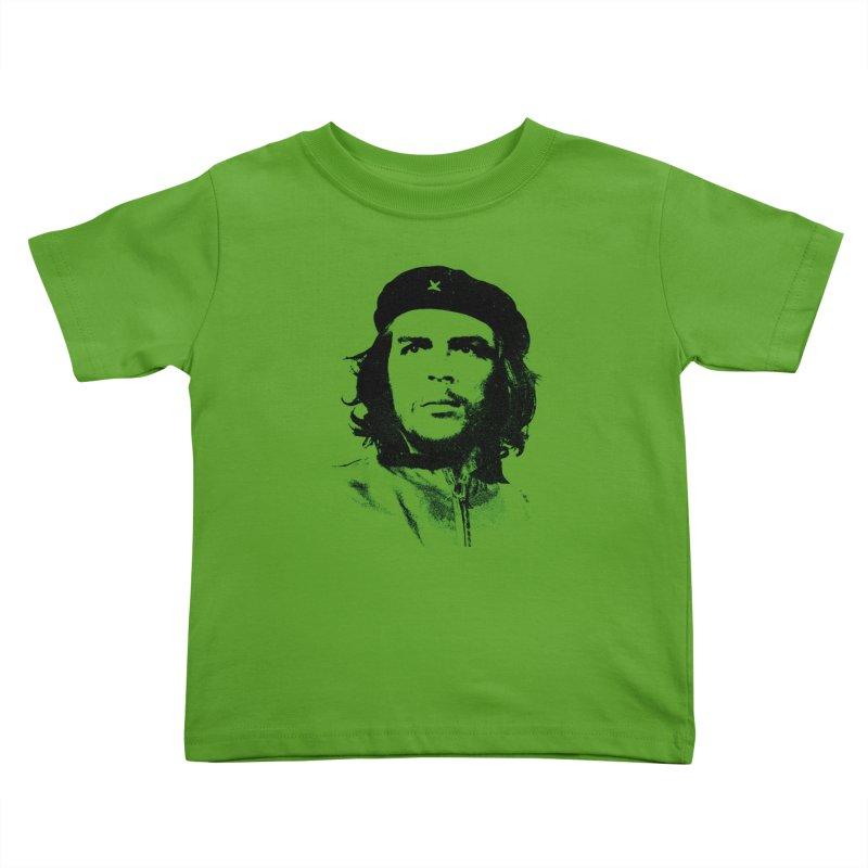 Che Guevara Kids Toddler T-Shirt by Cuba Junky's Gift Shop