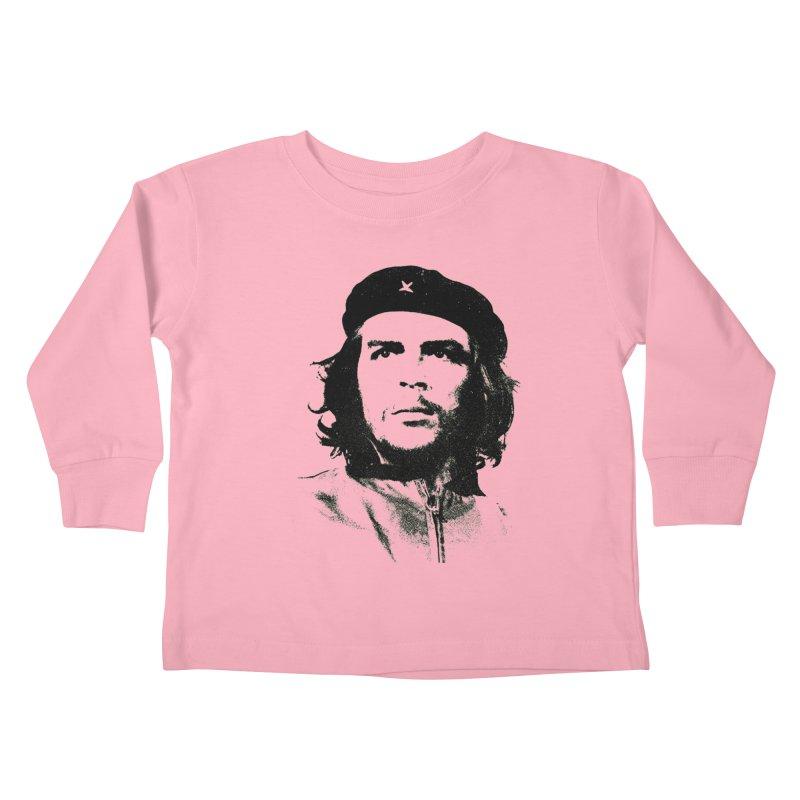 Che Guevara Kids Toddler Longsleeve T-Shirt by Cuba Junky's Gift Shop