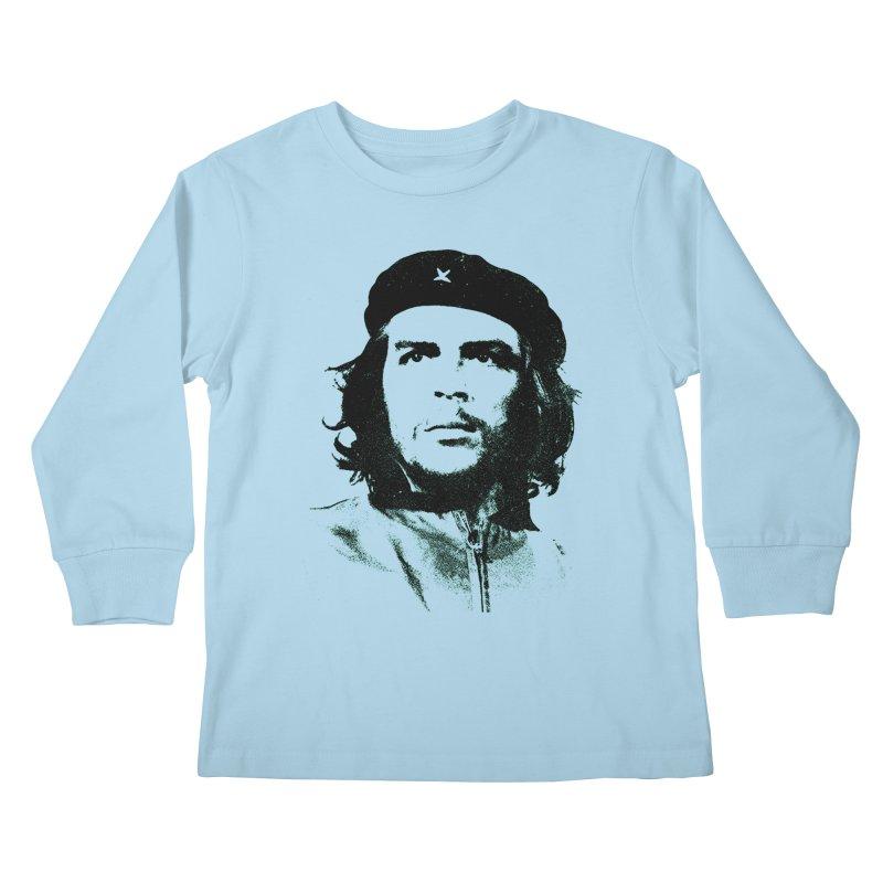 Che Guevara Kids Longsleeve T-Shirt by Cuba Junky's Gift Shop