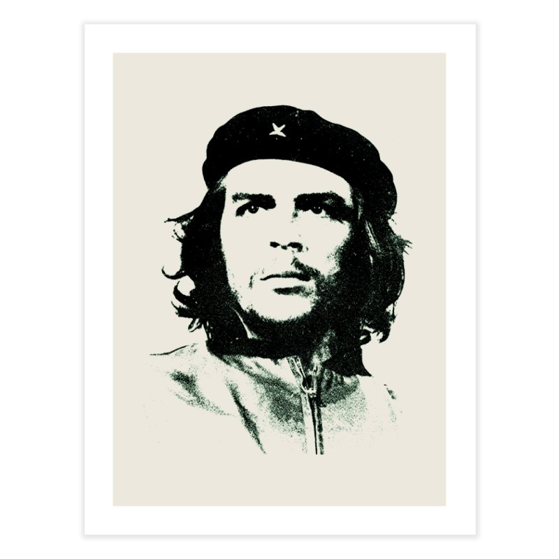 Che Guevara Home Fine Art Print by Cuba Junky's Gift Shop