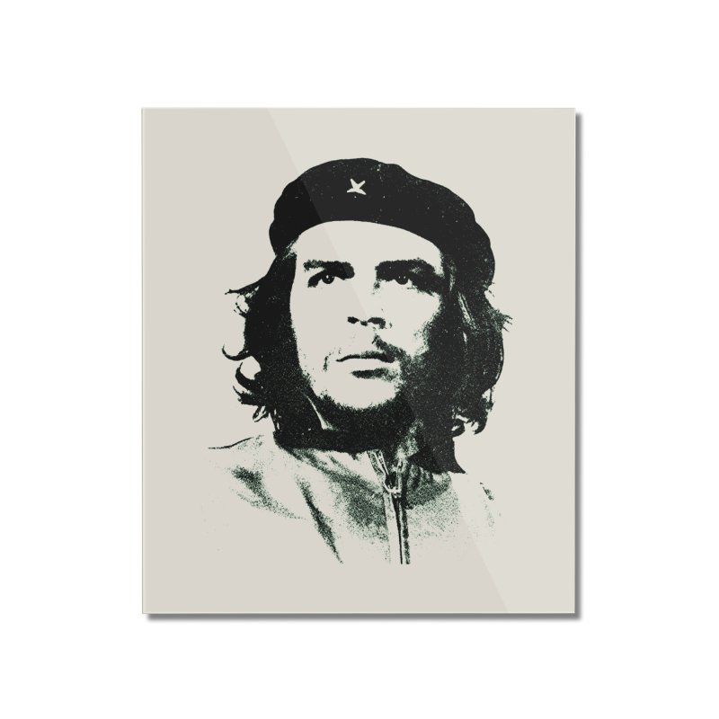 Che Guevara Home Mounted Acrylic Print by Cuba Junky's Gift Shop