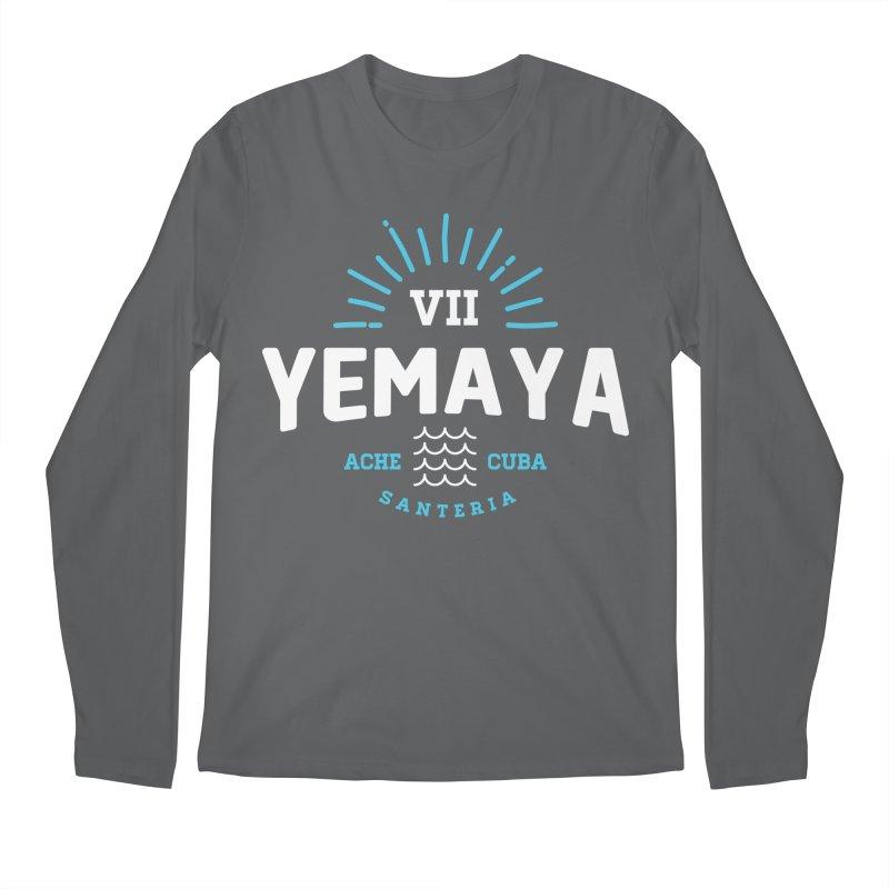 Yemaya Men's Longsleeve T-Shirt by Cuba Junky's Gift Shop