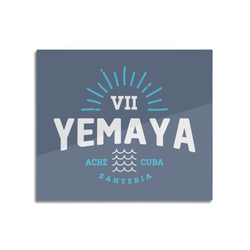 Yemaya Home Mounted Acrylic Print by Cuba Junky's Gift Shop