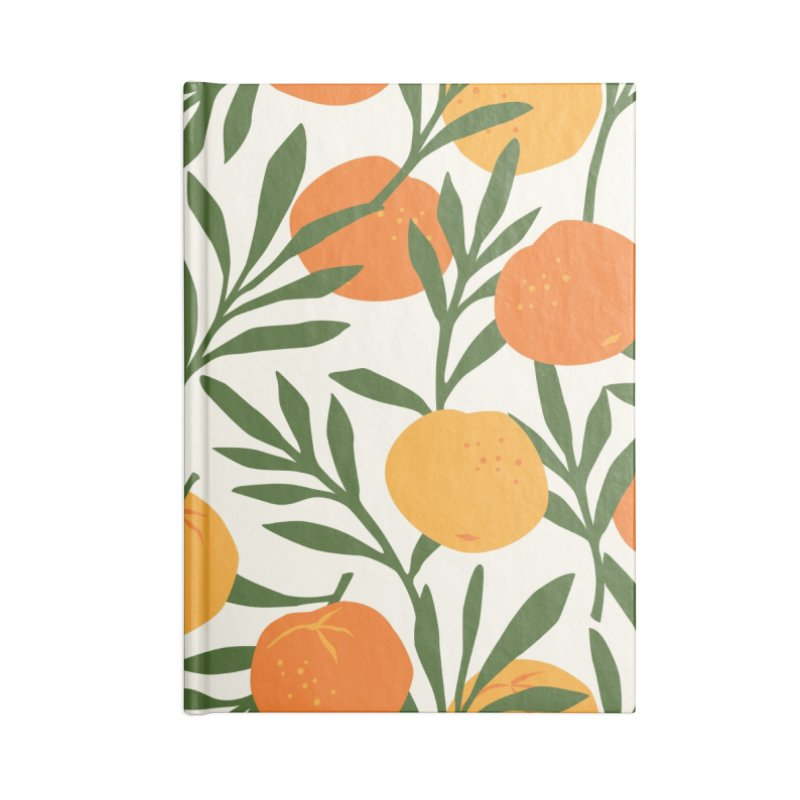 Tropical Cuban Oranges Accessories Notebook by Cuba Junky's Gift Shop