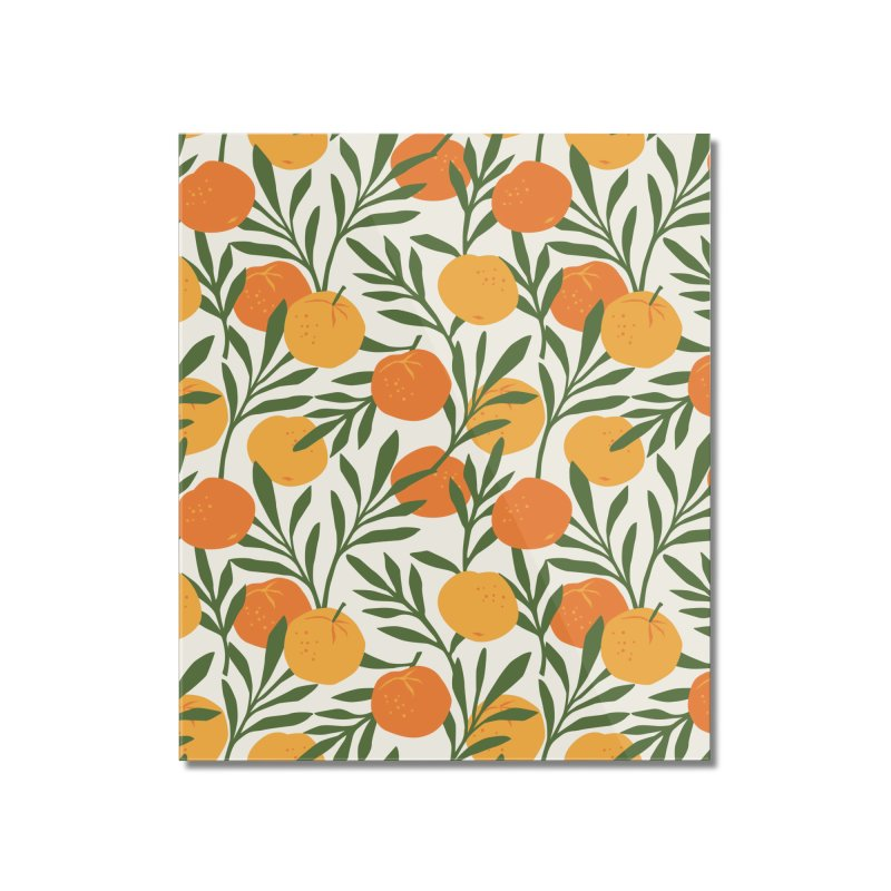 Tropical Cuban Oranges Home Mounted Acrylic Print by Cuba Junky's Gift Shop