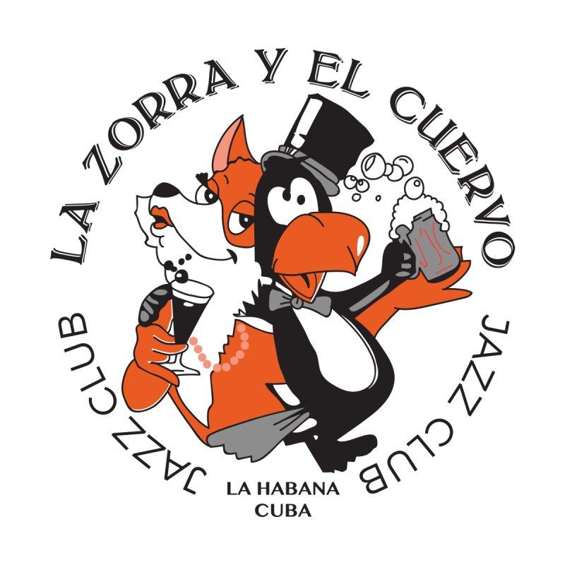 La Zorra Y El Cuervo Jazz Club Men's Cut & Sew by Cuba Junky's Gift Shop