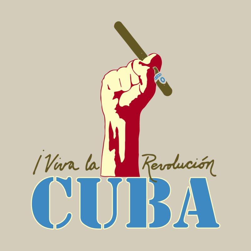 Viva La Revolucion Cuba Men's T-Shirt by Cuba Junky's Gift Shop