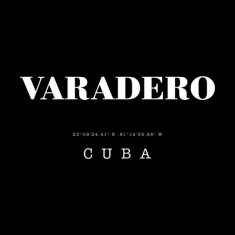 Varadero GPS Coordinates Men's T-Shirt by Cuba Junky's Gift Shop