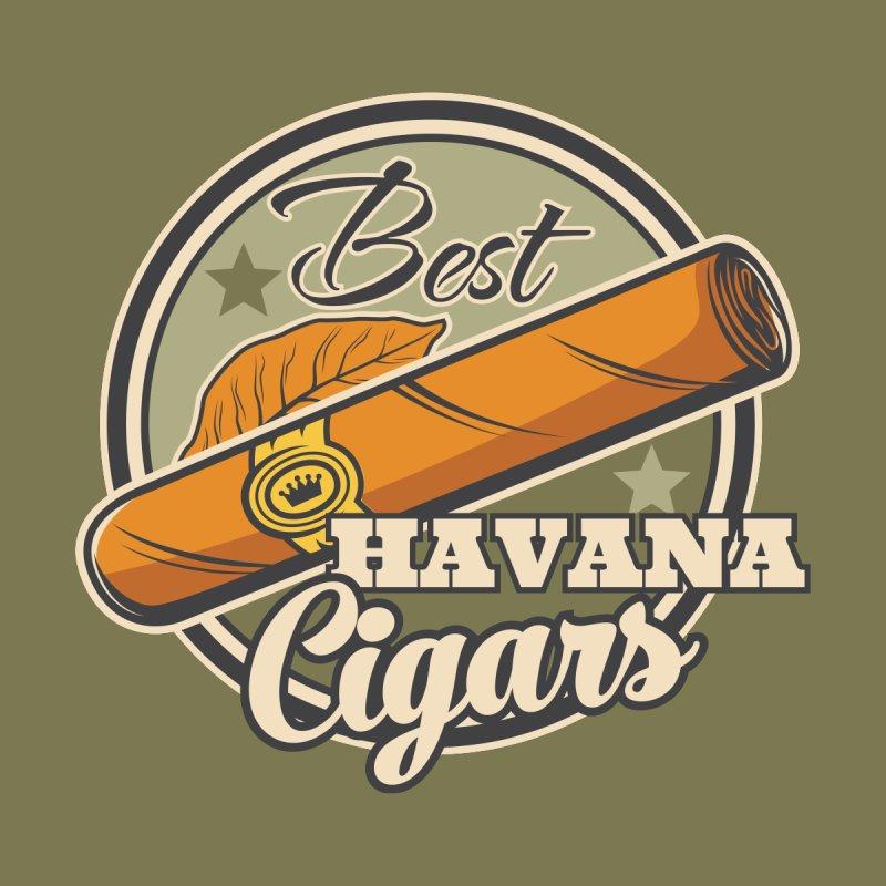 Best Havana Cigars Badge Kids T-Shirt by Cuba Junky's Gift Shop