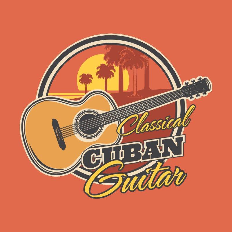 Classic Cuban Guitar Accessories Button by Cuba Junky's Gift Shop
