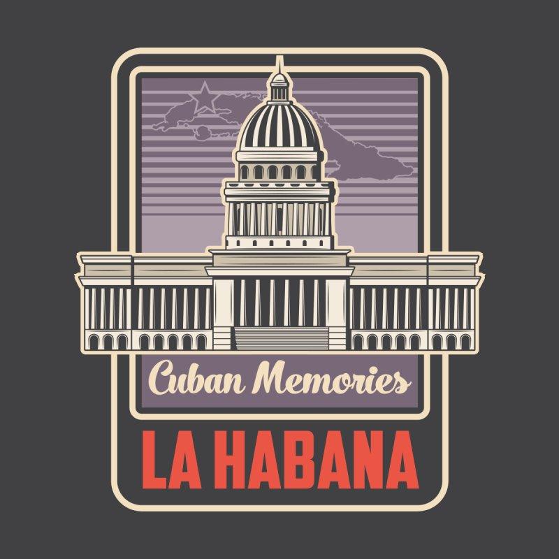 Cuban Memories La Habana El Capitolio Kids Baby T-Shirt by Cuba Junky's Gift Shop