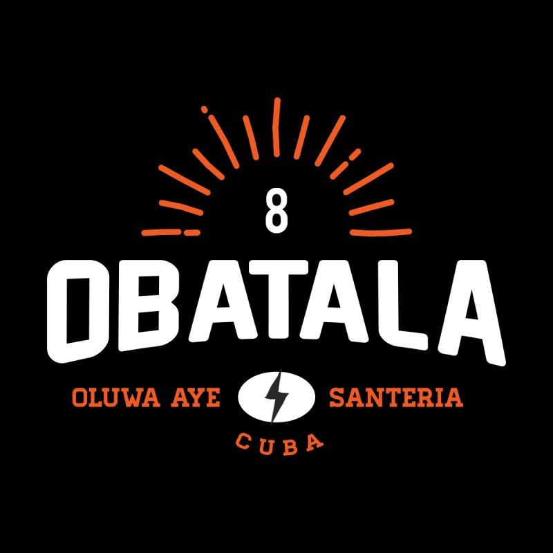 Obatala Men's T-Shirt by Cuba Junky's Gift Shop
