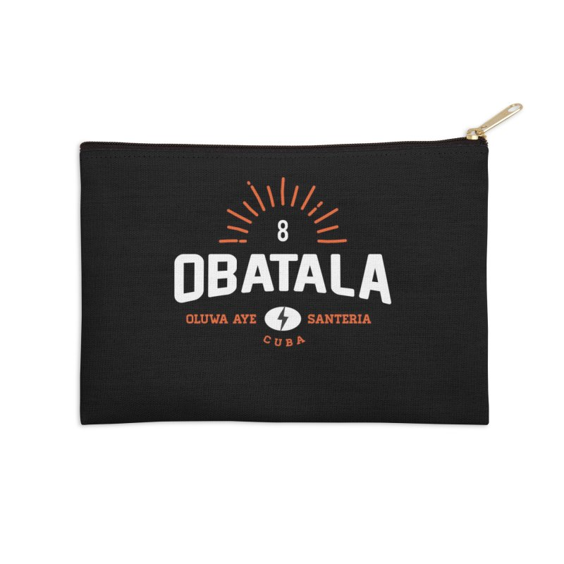 Obatala Accessories Zip Pouch by Cuba Junky's Gift Shop