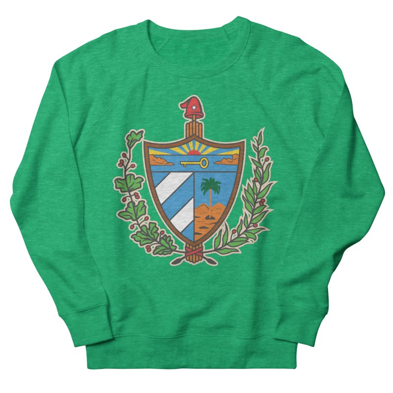 Coat of Arms of Cuba Women's Sweatshirt by Cuba Junky's Gift Shop