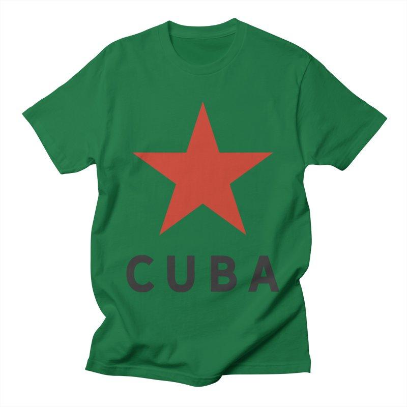 Cuba Star Men's T-Shirt by Cuba Junky's Gift Shop