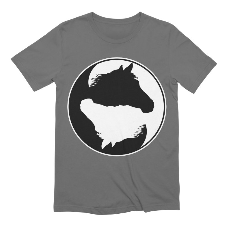 Yin Yang Horse Men's T-Shirt by Shirts by Jupilberry on Threadless