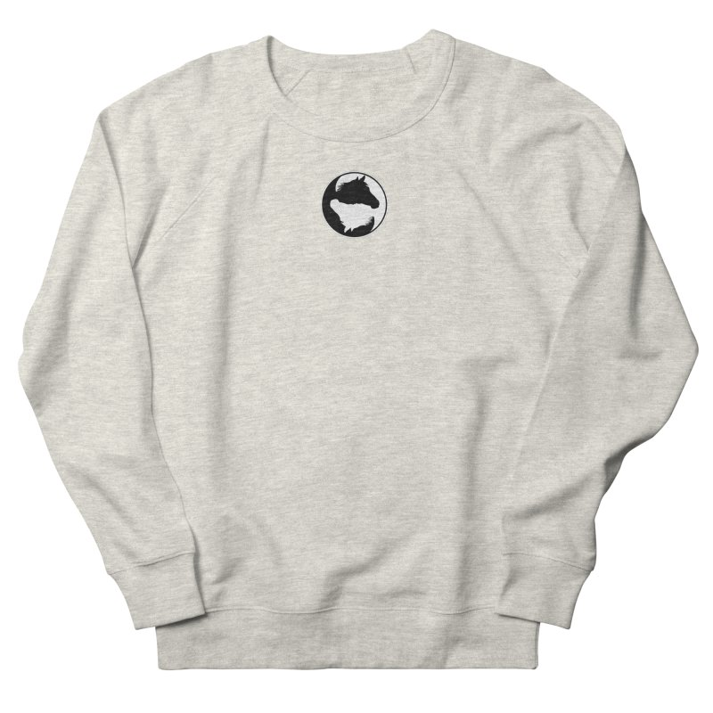 Yin Yang Horse Women's Sweatshirt by Shirts by Jupilberry on Threadless