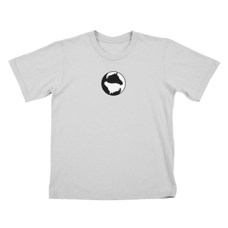 Yin Yang Horse Kids T-Shirt by Shirts by Jupilberry on Threadless