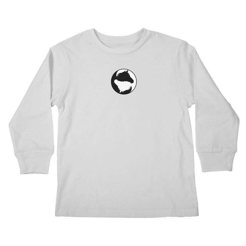Yin Yang Horse Kids Longsleeve T-Shirt by Shirts by Jupilberry on Threadless