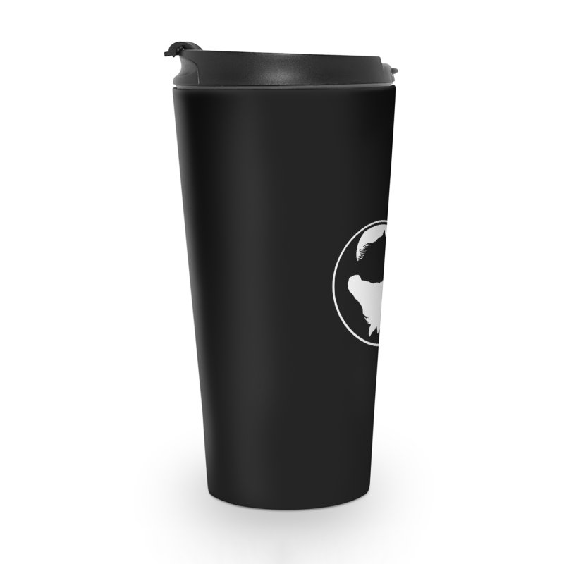 Yin Yang Horse Accessories Travel Mug by Shirts by Jupilberry on Threadless