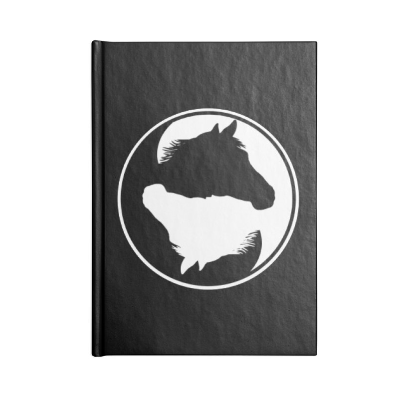 Yin Yang Horse Accessories Notebook by Shirts by Jupilberry on Threadless