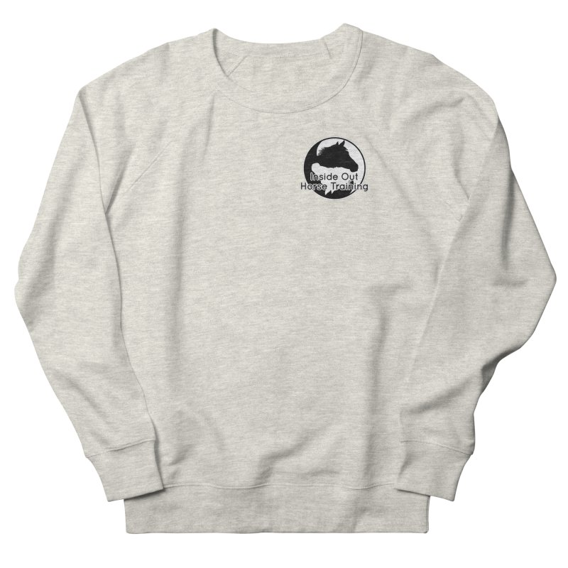 Inside Out Horse Training Women's French Terry Sweatshirt by Shirts by Jupilberry on Threadless