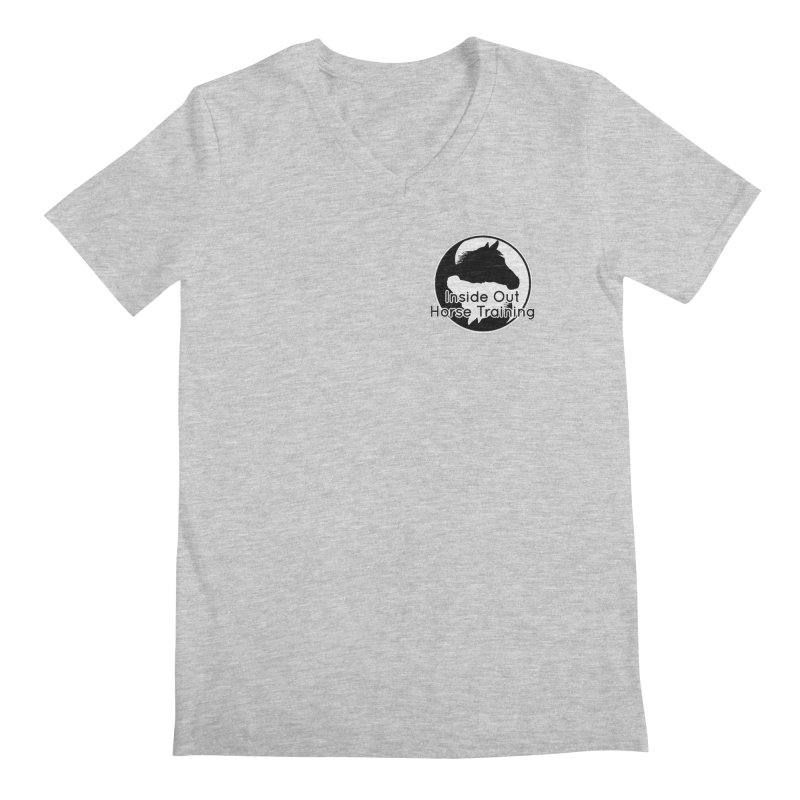 Inside Out Horse Training Men's Regular V-Neck by Shirts by Jupilberry on Threadless