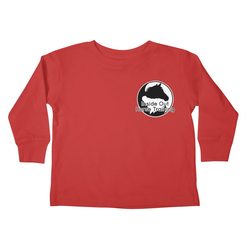 Inside Out Horse Training Kids Toddler Longsleeve T-Shirt by Shirts by Jupilberry on Threadless