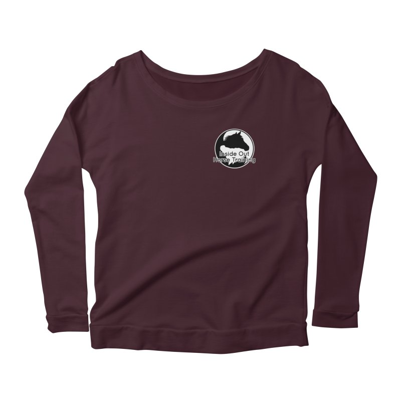 Inside Out Horse Training Women's Scoop Neck Longsleeve T-Shirt by Shirts by Jupilberry on Threadless