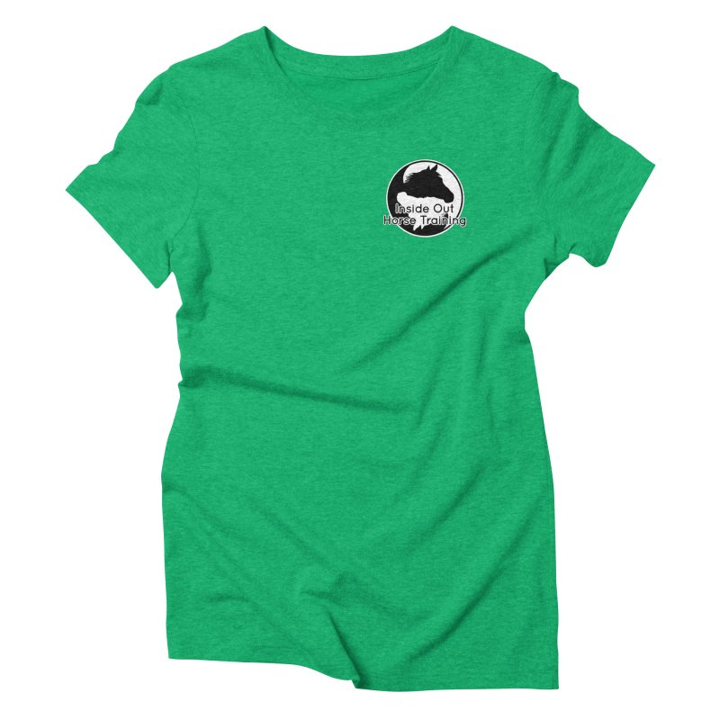 Inside Out Horse Training Women's Triblend T-Shirt by Shirts by Jupilberry on Threadless