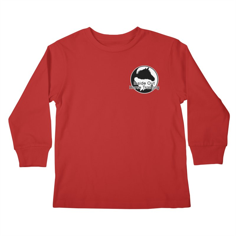 Inside Out Horse Training Kids Longsleeve T-Shirt by Shirts by Jupilberry on Threadless
