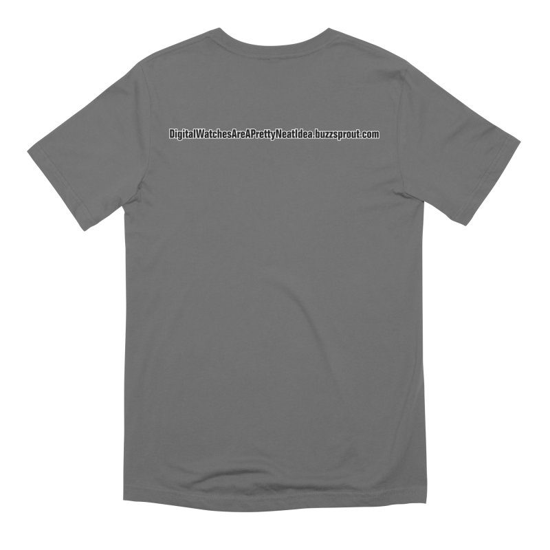 Digital Watches Podcast Men's T-Shirt by Shirts by Jupilberry on Threadless