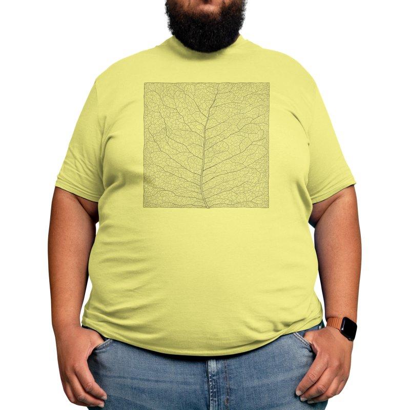 Square leaf Men's T-Shirt by Jurjen Bertens