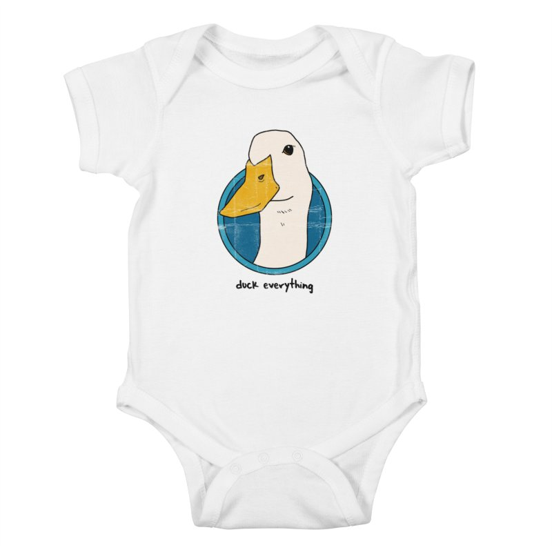 Duck Everything Kids Baby Bodysuit by jussikarro's Artist Shop