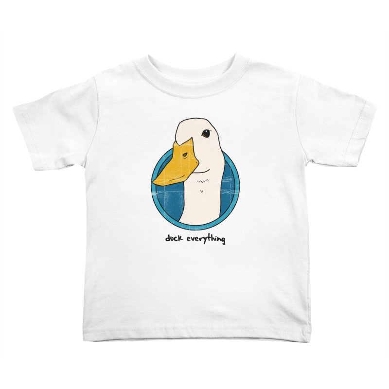Duck Everything Kids Toddler T-Shirt by jussikarro's Artist Shop
