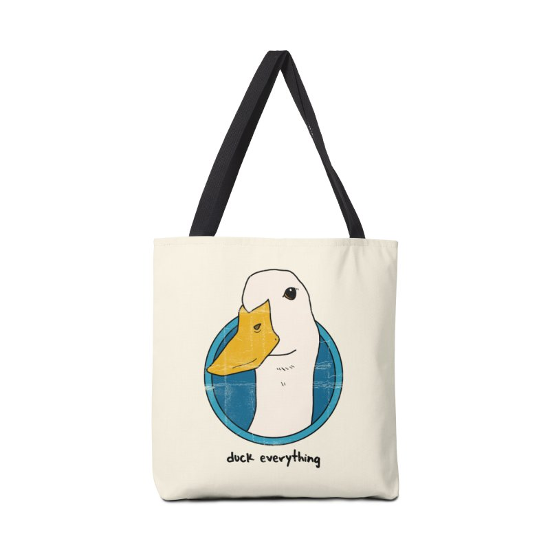 Duck Everything Accessories Bag by jussikarro's Artist Shop