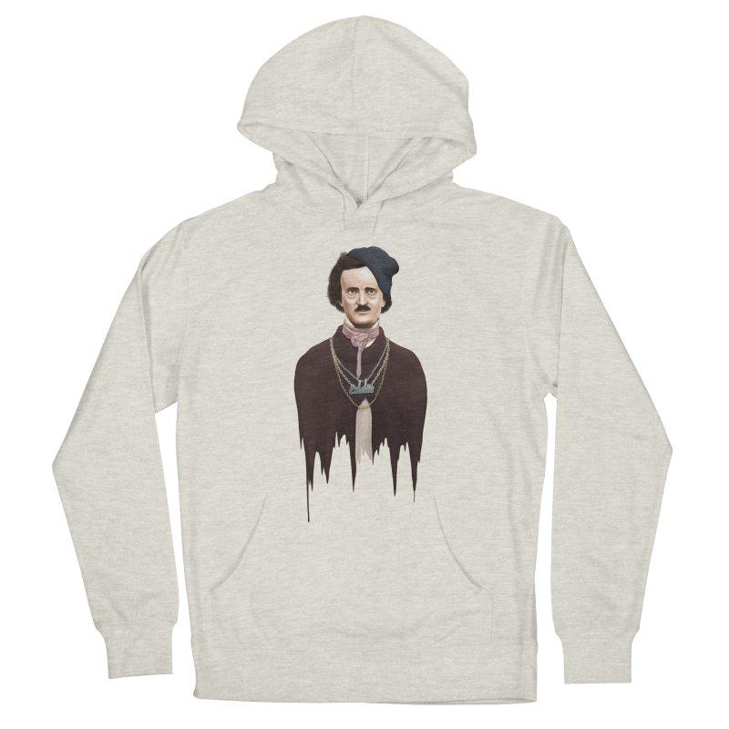 Eddie Poe Men's Pullover Hoody by jussikarro's Artist Shop