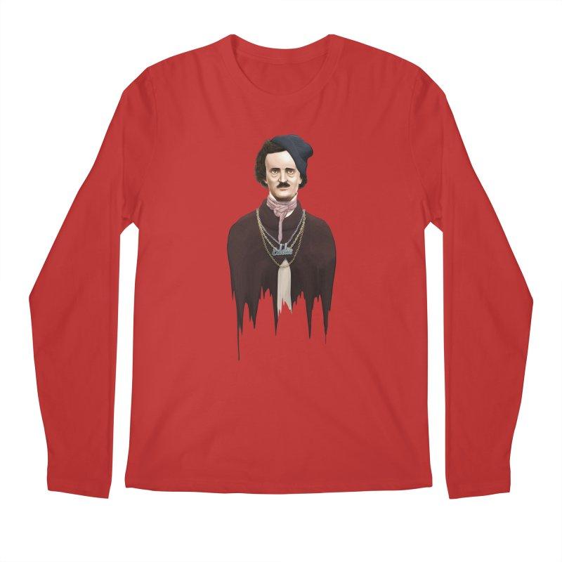Eddie Poe Men's Longsleeve T-Shirt by jussikarro's Artist Shop