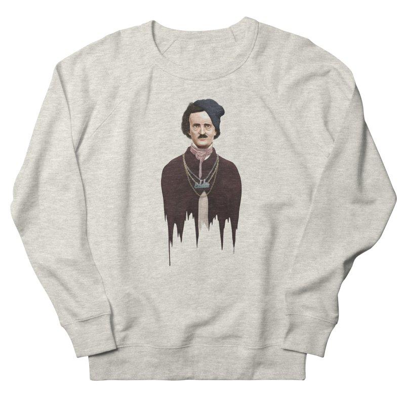 Eddie Poe Women's Sweatshirt by jussikarro's Artist Shop
