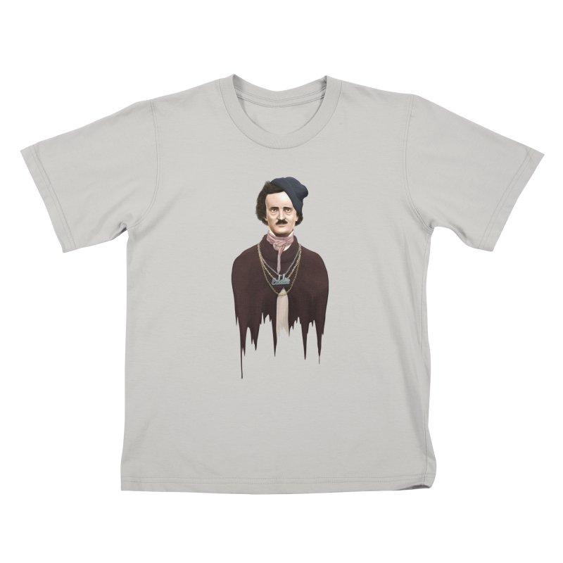 Eddie Poe Kids T-shirt by jussikarro's Artist Shop