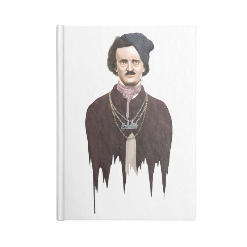 Eddie Poe Accessories Notebook by jussikarro's Artist Shop