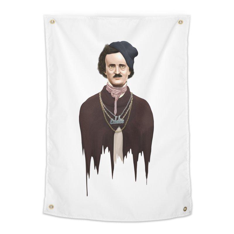 Eddie Poe Home Tapestry by jussikarro's Artist Shop