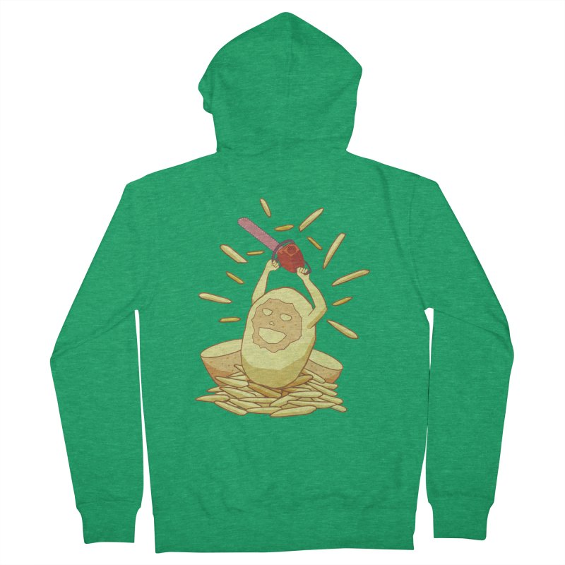 Extra Fries Men's Zip-Up Hoody by jussikarro's Artist Shop