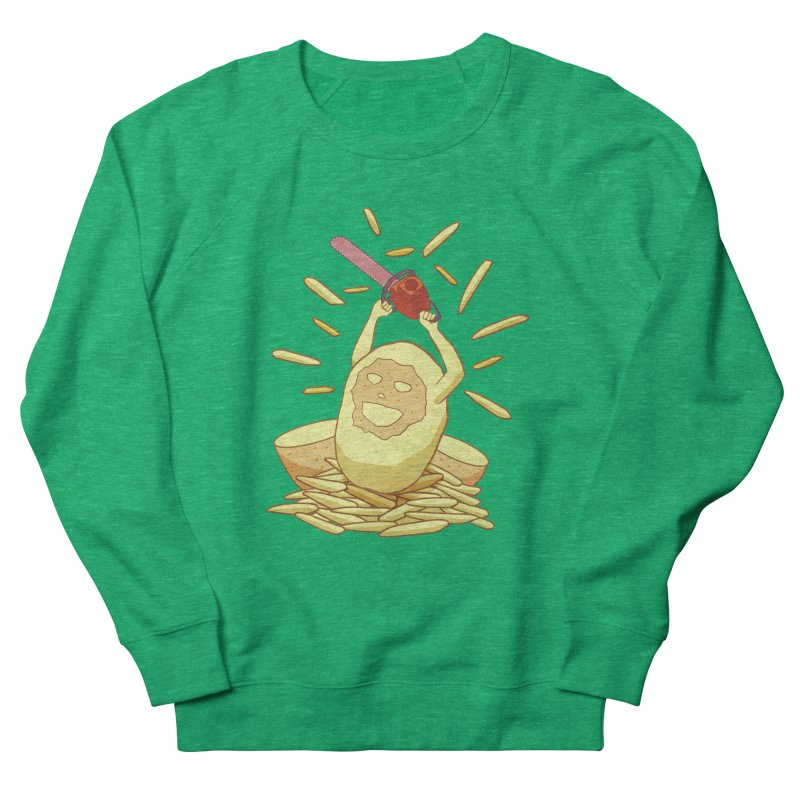 Extra Fries Men's Sweatshirt by jussikarro's Artist Shop