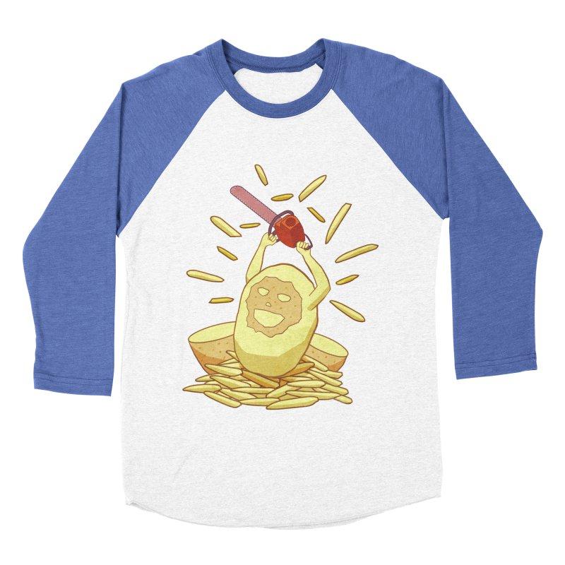 Extra Fries Women's Baseball Triblend T-Shirt by jussikarro's Artist Shop