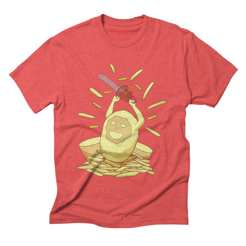 Extra Fries Men's Triblend T-shirt by jussikarro's Artist Shop