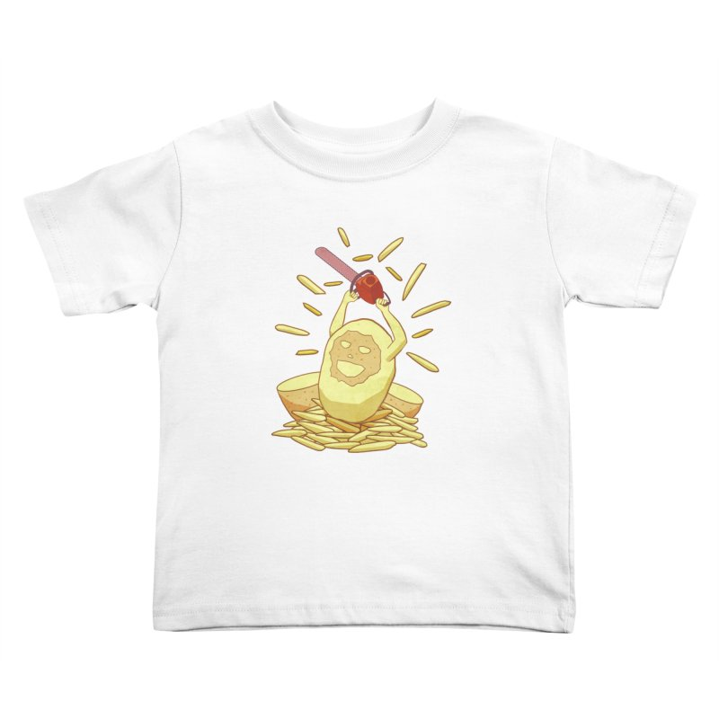 Extra Fries Kids Toddler T-Shirt by jussikarro's Artist Shop