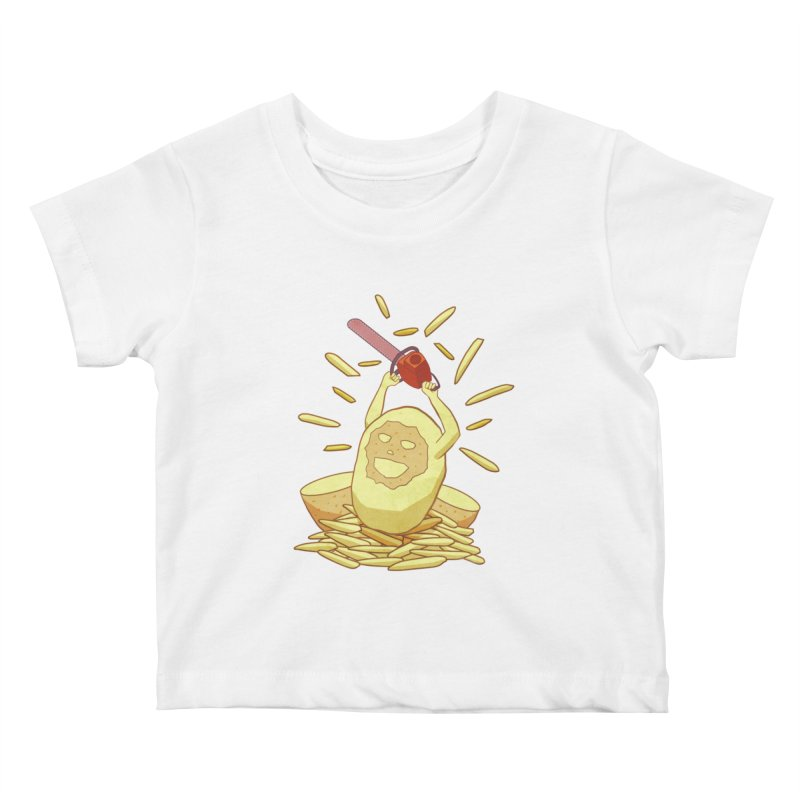 Extra Fries Kids Baby T-Shirt by jussikarro's Artist Shop
