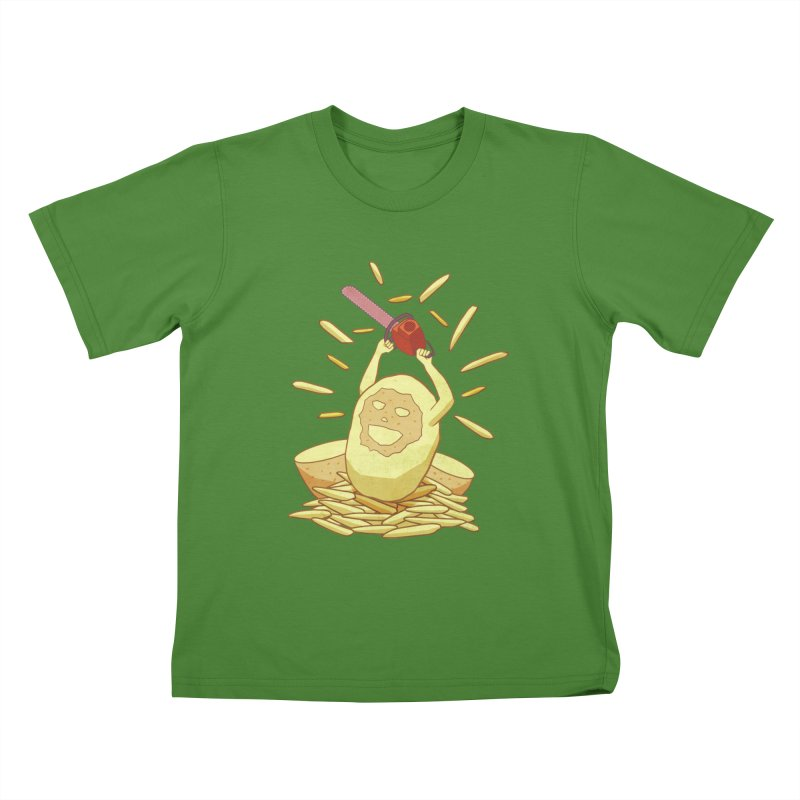 Extra Fries Kids T-shirt by jussikarro's Artist Shop