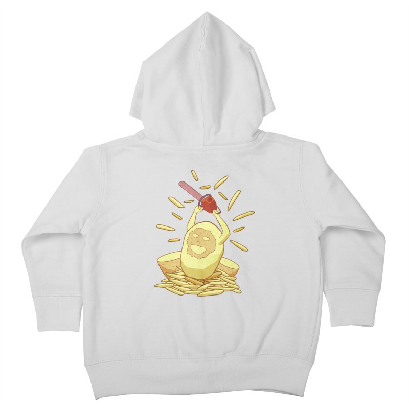 Extra Fries Kids Toddler Zip-Up Hoody by jussikarro's Artist Shop